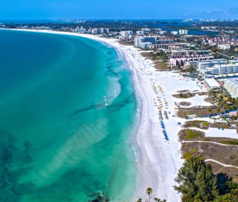 Siesta Key #1 Beach in World - Dr. Beach