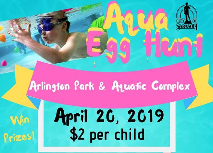 Arlington Park Aqua Egg Hunt