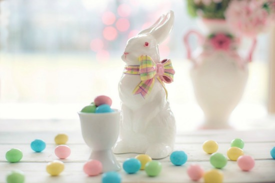 Bunny candy easter