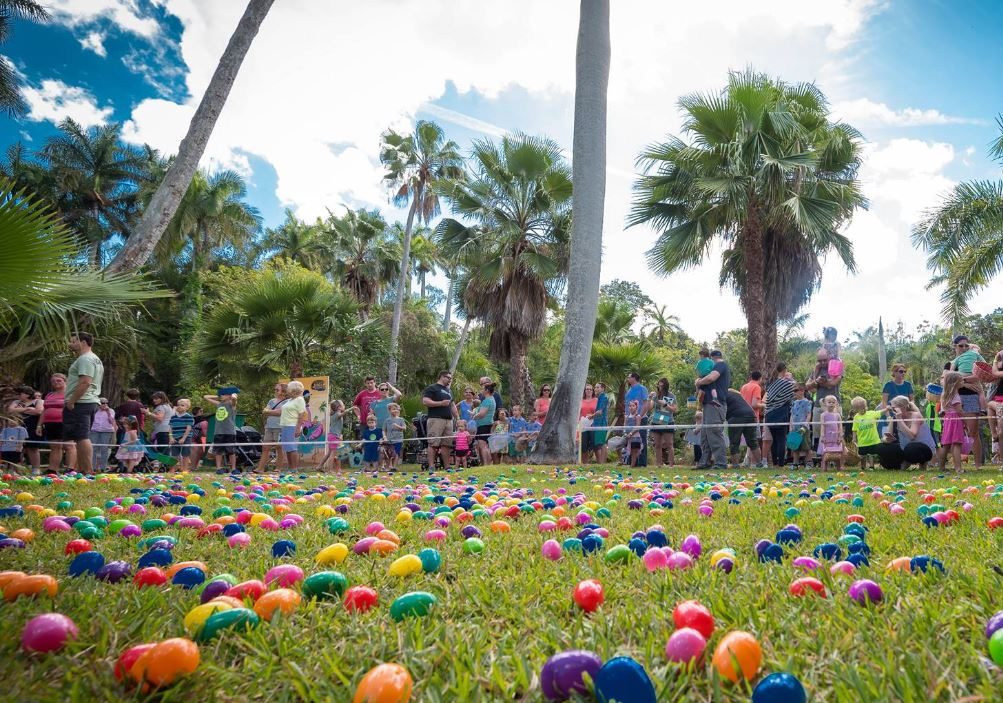 Sarasota Jungle Garden Annual Easter Egg Hunt