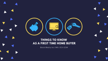 Things to Know First Time Home Buyer