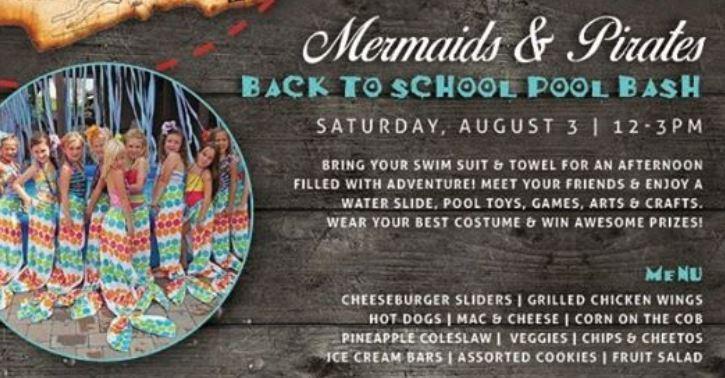 Back to School Mermaids Pirates