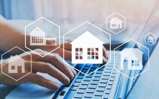 Buying a Home Concept - Search Online
