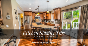 Kitchen Staging Tips for Home Sellers - Brock Realty Inc