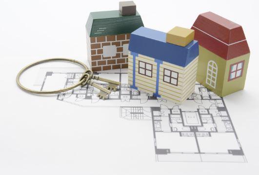 Condo Floorplan Concept with Keys