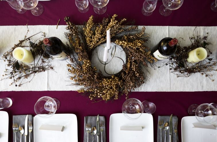 Luxury Thanksgiving Table Setting