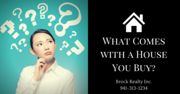 What Comes with a House You Buy - Brock Realty Inc