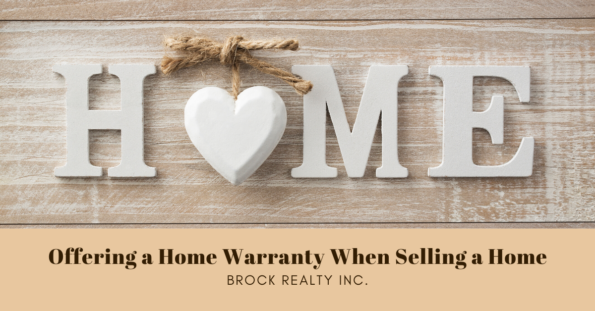 Offering a Home Warranty When Selling a Home