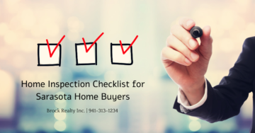 Home Inspection Checklist for Sarasota Home Buyers