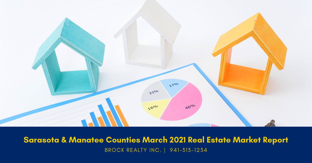 Sarasota & Manatee Counties Real Estate Market Report - March 2021