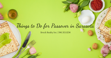 Things to do for Passover in Sarasota